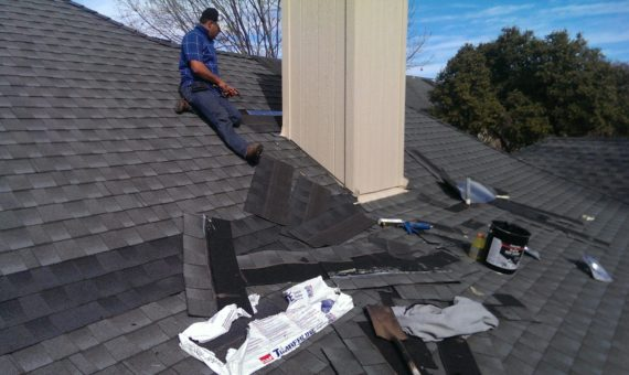 Roof repair in Dallas, TX home