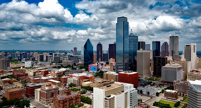 Dallas, Texas city skyline
